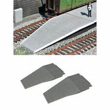 Gaugemaster Station Platform Ramps Tapered (2) OO Gauge Buildings GM457