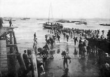 Photo 1909 Japanese Soldiers Arriving on Liaodong Peninsula