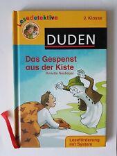 Lesedetektive von DUDEN, Das Gespenst aus der Kiste: ISBN9783411708055