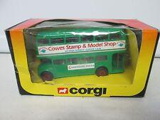 Corgi Cowes Stamp & Model Shop Double Decker Bus