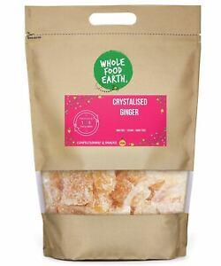 Crystalised Ginger    GMO Free   Vegan   Dairy Free