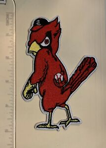 St. Louis Cardinals Big Large 5in. Iron / Sew On Embroidered Patch FREE SHIPPING