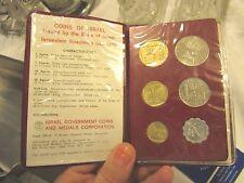 1970 Coins of Israel Jerusalem Specimen Set  - LUDLOT