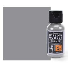 Pintura Modelos de misión-Gris primer 1 floz Base Acrílico Pinturas Modelo