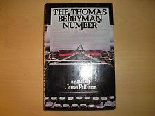 JAMES PATTERSON - THE THOMAS BERRYMAN NUMBER  1st/1st   HB/DJ  2014