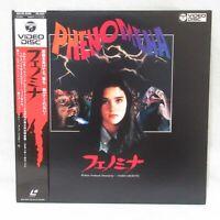 PHENOMENA 1984' Laserdisc LD Japanese subtitles Jennifer Connelly
