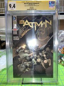Batman #1 DC New 52 Italian 2011 Snyder Capullo CGC Signature Series 9.4 NM