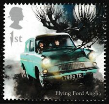 GB 4144 Harry Potter Flying Ford Anglia single (1 stamp) MNH 2018