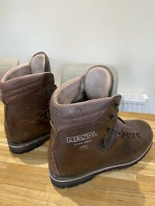 Meindl Super Crack Gore-Tex 4 Season Walking Boots Size 9.5 In Used Condition