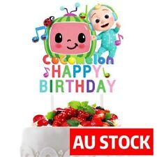 COCOMELON  Happy Birthday Cake Topper Party Decoration AU STOCK #1