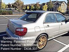 Speedzone Rear Roof Visor With Brackets Subaru WRX / STI  02 03 04 05 06 07