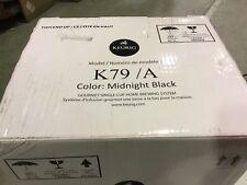 Keurig  PLATINUM  Home-Brewing System BLACK w/ Water Filter Kit  K75,K79,K70 NEW