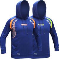 RDX Mens Non-Pilling Stretch Hoodie MMA Jacket Gym Sweat Shirt