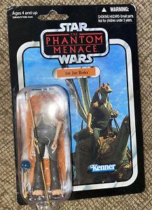 Star Wars The Phantom Menace Jar Jar Binks VC108 Vintage Collection