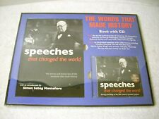 Speeches that Changed the World Book and CD