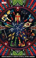 Heroes Reborn #1 (2021) Jefferey Verrege 1:50 Variant Marvel Comics