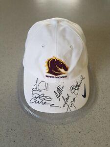 Signed Brisbane Broncos Cap ~ 2006 Premiership Year