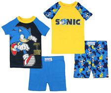 Essentials Boys Snug-Fit Cotton Pajamas Sleepwear Sets
