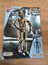LEGO Star Wars 8007 Technic C-3PO *Instructions/Manual Only* (Used)