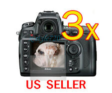 3x Clear LCD Screen Protector Guard Cover Film For Nikon DSLR D700
