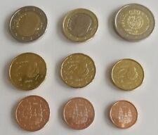 manueduc   ESPAÑA 2018  Serie  Las  8 Monedas  + 2€ Conmemorativa FELIPE VI  UNC