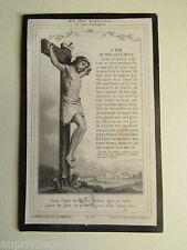 IMAGE d' AVIS MORTUAIRE : Daniel GILLART, 1883.