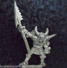 1989 Chaos Champion of Tzeentch Halberd Citadel Warhammer Army Hordes Warrior GW
