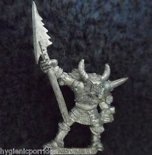 1989 CAOS CAMPIONE DI TZEENTCH HALBERD Citadel Warhammer Esercito Orde WARRIOR GW