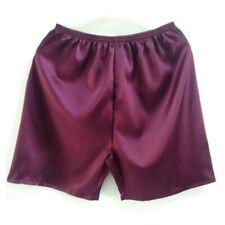 Men's Silk Feel Underwear Shorts Satin Boxer Briefs Knickers Trunks Pyjamas Cosy