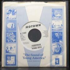 "Diana Ross - Surrender 7"" Mint- Promo Vinyl 45 Motown M 1188F USA 1971"