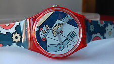 Swatch GENT VINTAGE COLLECTION(1997)GR-135 ROBOBOY LIMITED EDITION WATCH NOS UHR