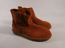Ugg Women's US 5 Classic Unlined Mini Perforated Spring Boots Fire Opal Orange