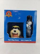 1993 Looney Tunes 2pc. Bugs Bunny & Taz Salt/Pepper Shakers