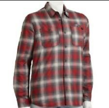 NWT VANS Youth Gray/ Red Plaid Button-Down Heritage Crusader Jacket- XL MSRP $65
