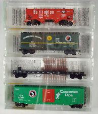BN Merger Pack, Fallen Flags  (4 pack)    N-Scale  MTL 21212  NIB   #3 in Series