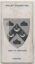 Worshipful Company Horners Guild London England 100+ Y/O Trade Ad Card