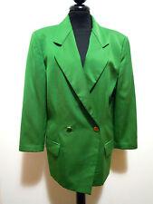 GENNY vintage '80 Damenjacke Wolle Frau Wolle Jacke SZ. m - 44