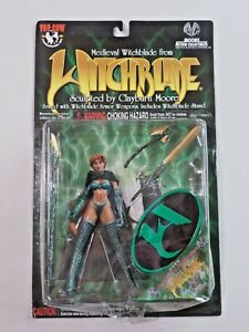 Medieval Witchblade Action Figure Armor Weapons NIP Moore Collectibles