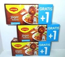 3 x 3er pack MAGGI - Delicacy Jägersoße Huntersauce fresh from Germany New