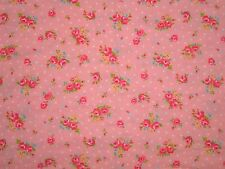 2012 Lecien Shabby Flower Sugar Tiny Small Pink Rose Polka Dot fabric 30519 Chic