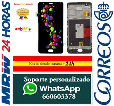 Pantalla Completa con Marco para One Plus 3 A3000 A3003 A3010 Negra Tactil + LCD
