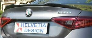 "Art. C588/ABS Spoiler Posteriore / Rear Spoiler ""QUADRIFOGLIO"" Alfa Romeo GIULIA"
