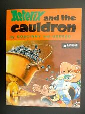 UDERZO Astérix and the cauldron chaudron anglais english Dargaud Canada 1979