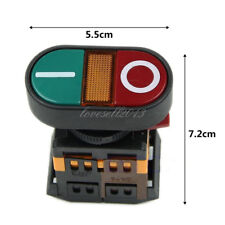 220v Start Stop Push Button Light Indicator Momentary Switch Power On Off Lo