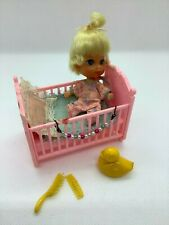 Vintage Liddle Kiddle * Baby Diddle Doll & Accessories