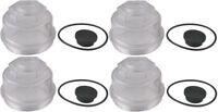 Redline RG04-250 Oil Cap Kit - Fits AL-KO/Hayes 10K-12K Axles - 4 Pack