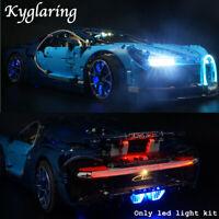 Kyglaring LED Light for LEGO 42083 Technic Bugatti Chiron Race Car + battery box