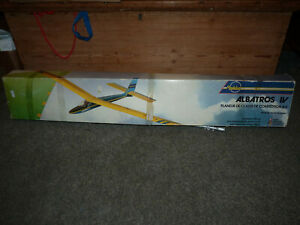 Modelud Albatros IV Wooden Ideal A2 Glider Plane Kit - Boxed, Unmade
