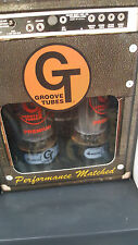 (2) Factory Matched Groove Tubes El34 - Gold Series - GT-El34-MD-M 113557 Russia