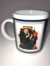 "Vintage Norman Rockwell Saturday Evening Post ""The Doctor and the Doll"" mug"